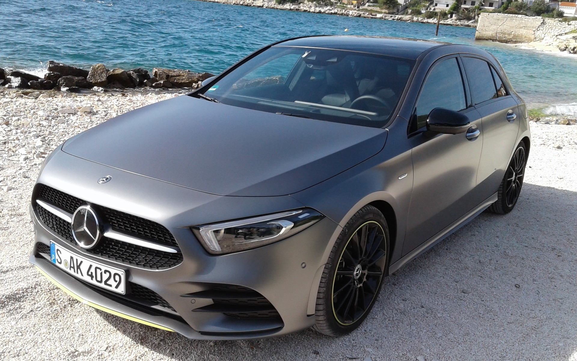 <p>The 2019 Mercedes-Benz A 250</p>