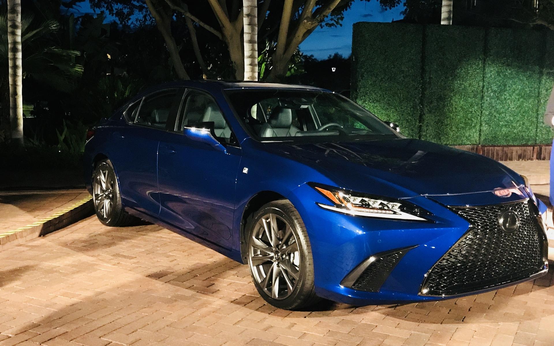 The all-new 2019 Lexus ES