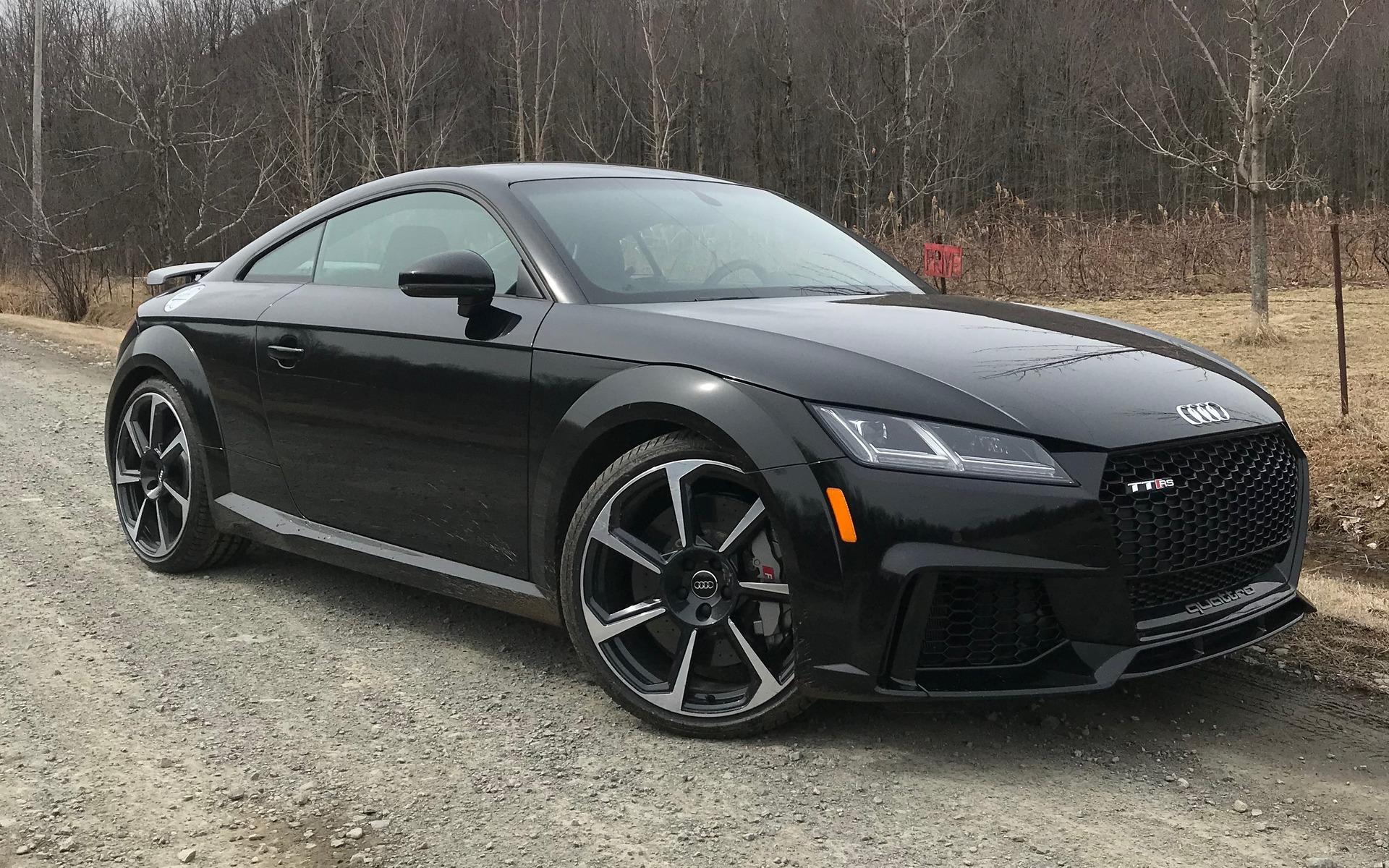 La Audi TT RS 2018