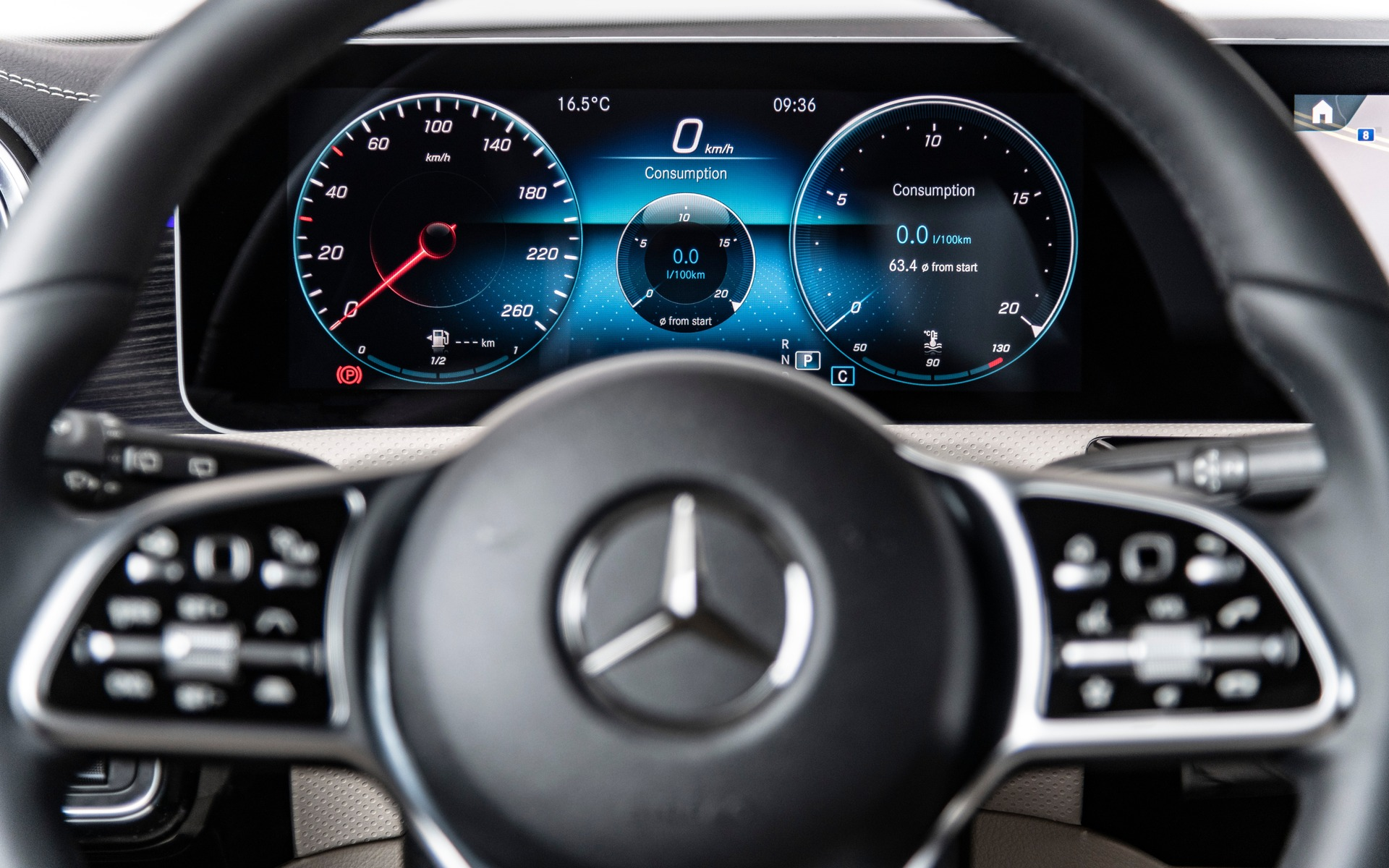 <p>The 2019 Mercedes-Benz A-Class</p>