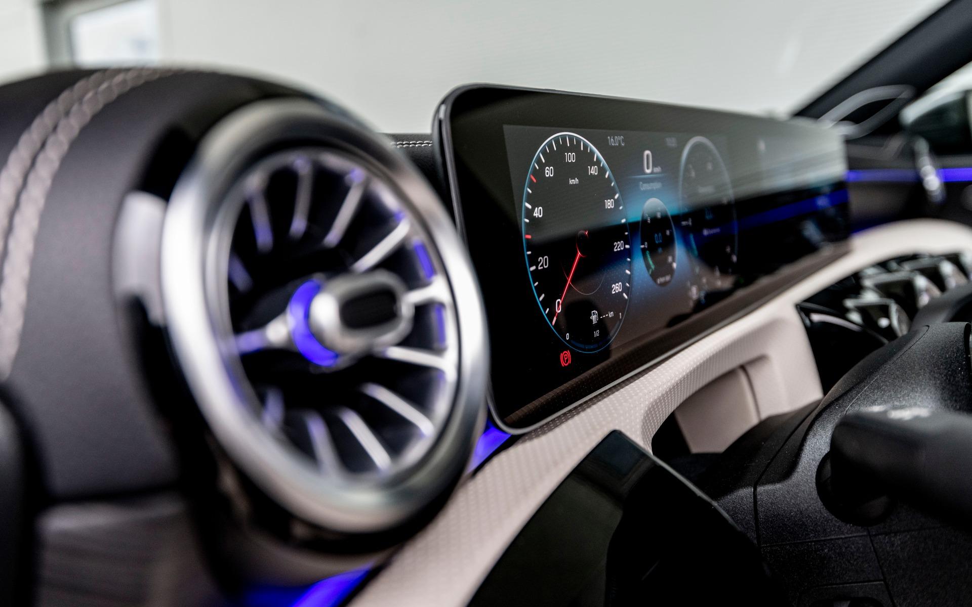 <p>The 2019 Mercedes-Benz A-Class</p>