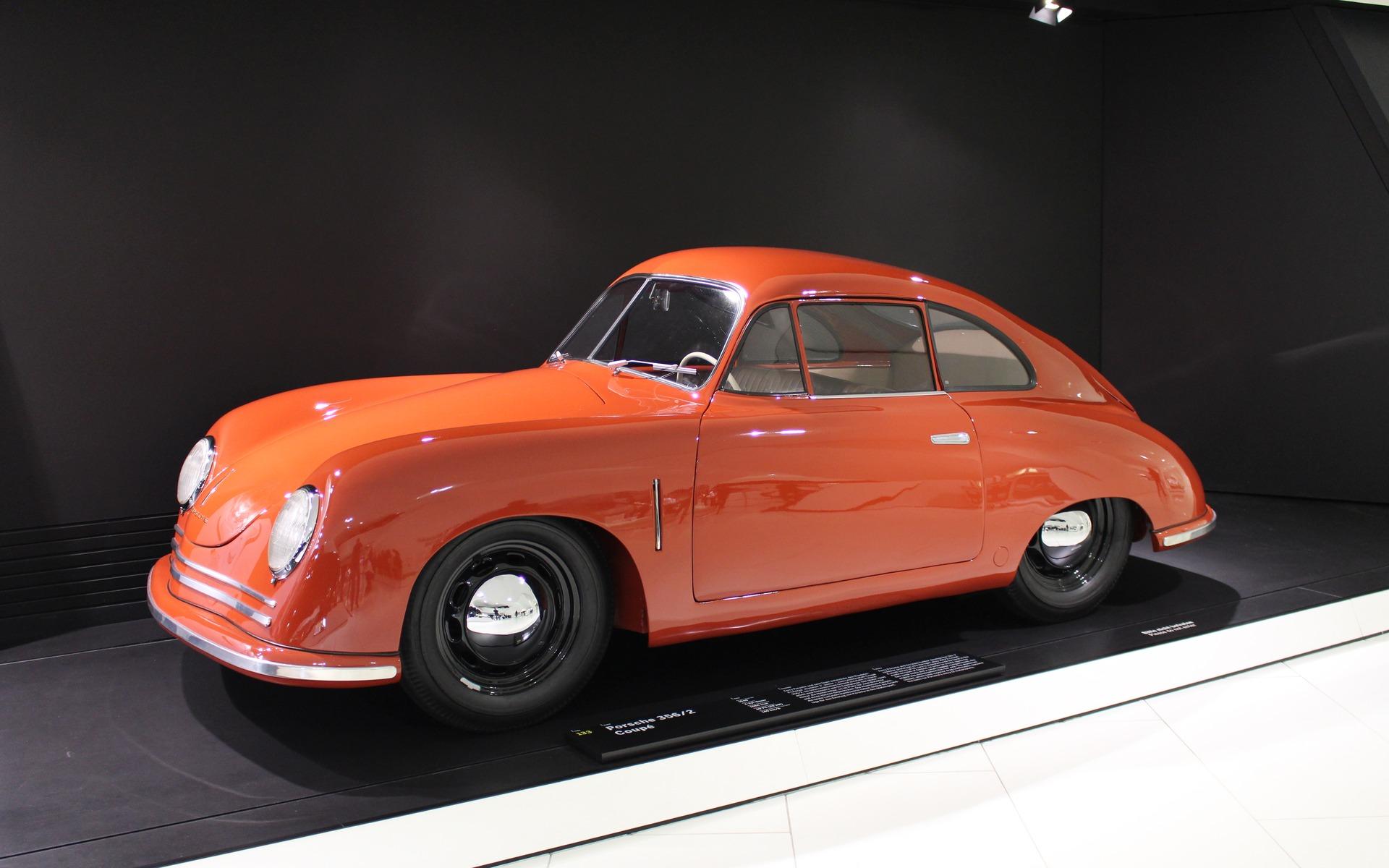 <p>Porsche 356, 1948</p>