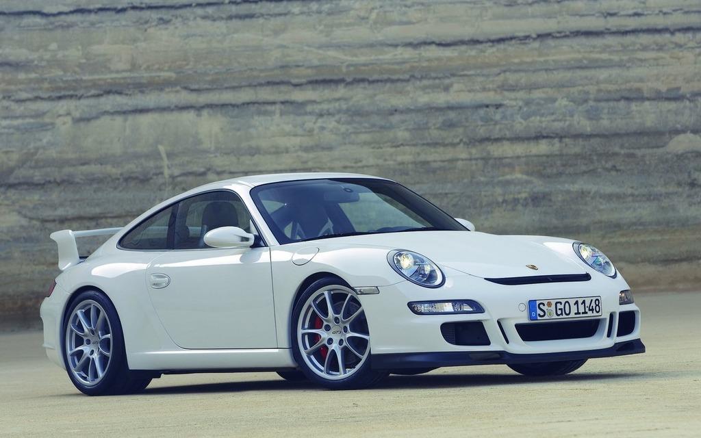 <p>Porsche 911 GT3, 2007</p>