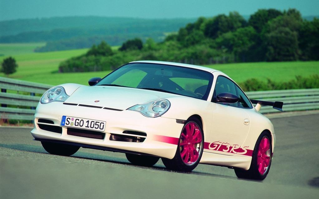 <p>Porsche 911 GT3 RS, 2004</p>