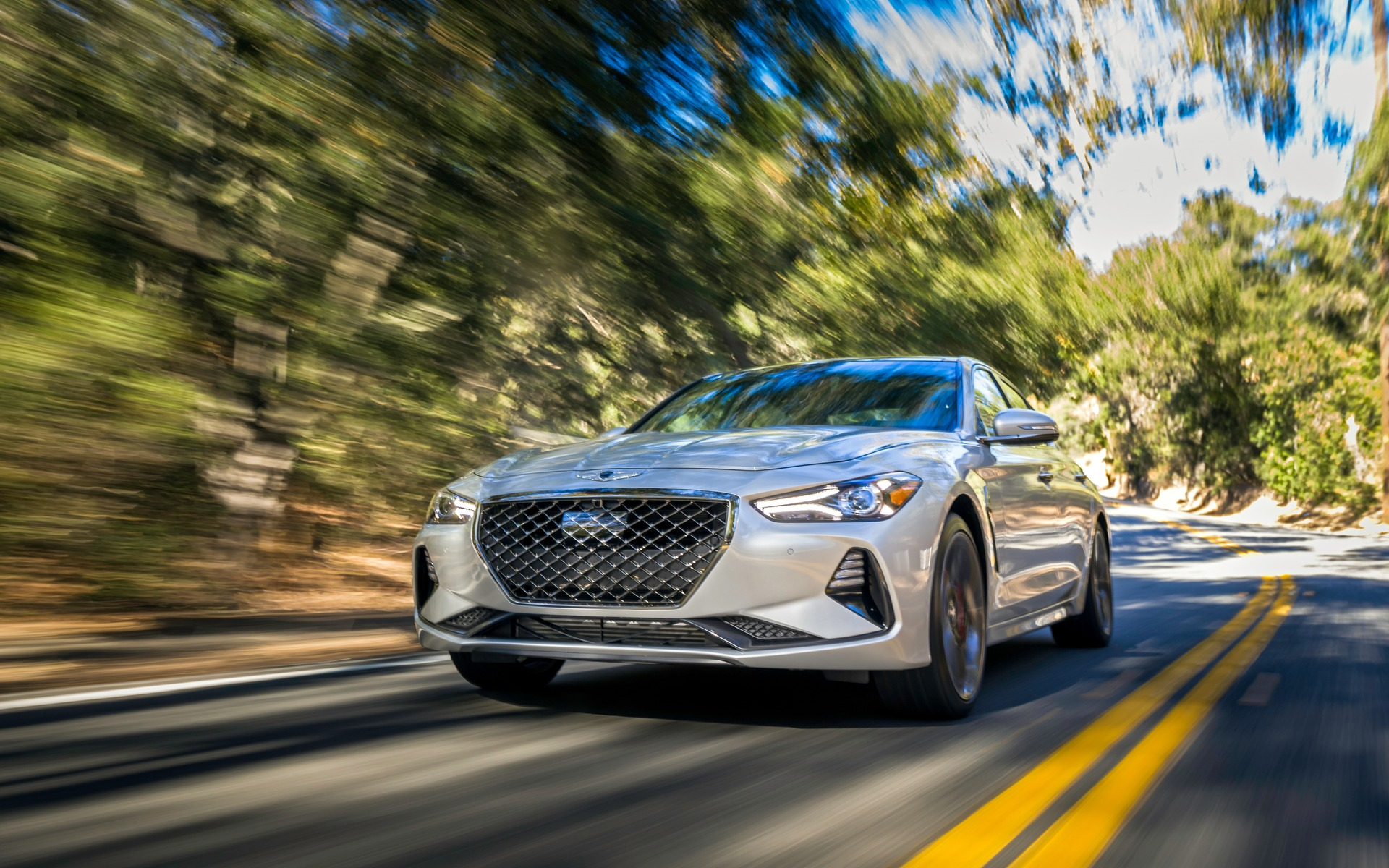 2019 Genesis G70 Road and Track this Week 1 18