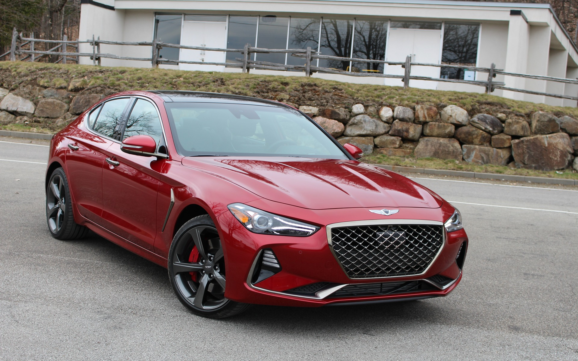 2019 Genesis G70 Crossing Enemy Lines The Car Guide