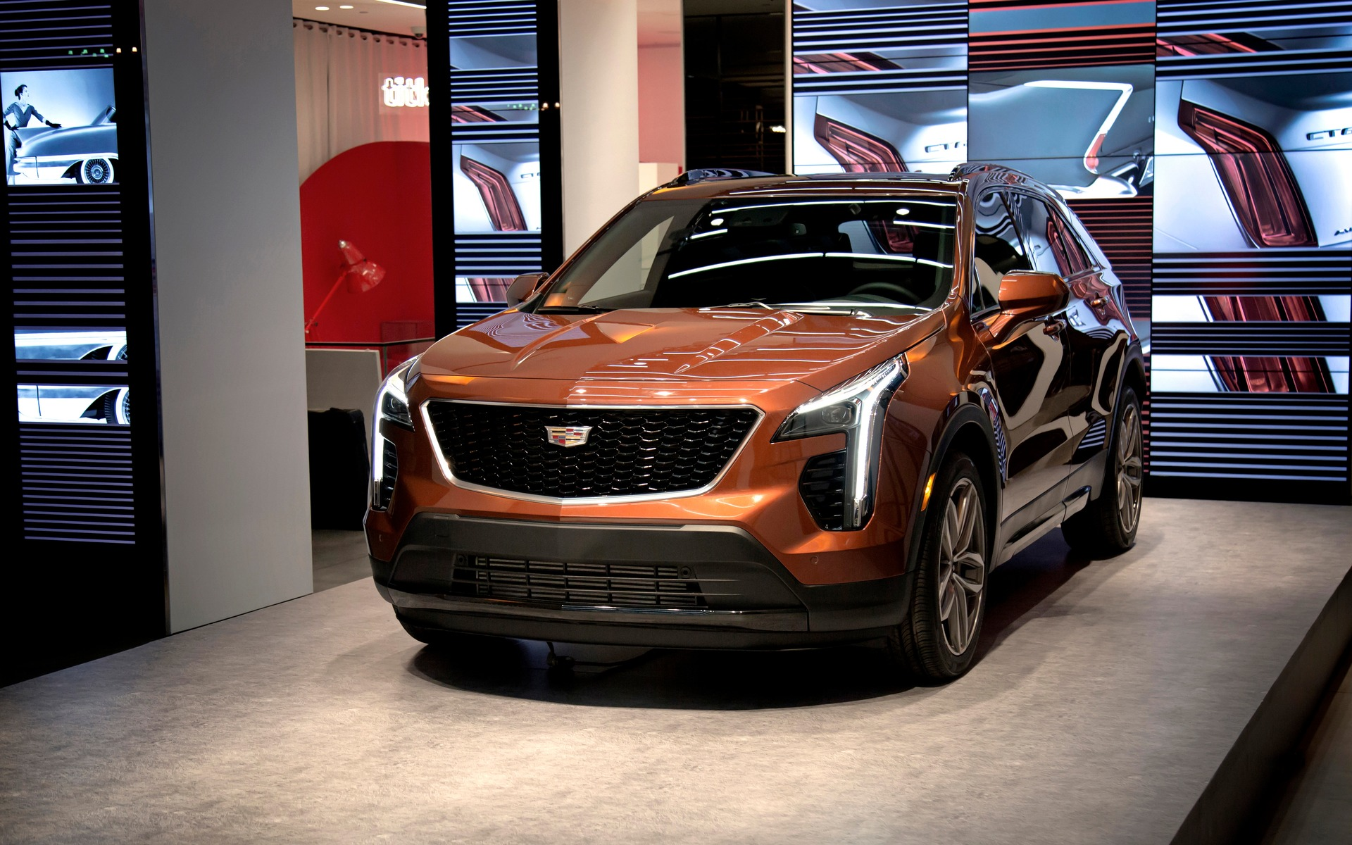 Launch of the 2019 Cadillac XT4 in New York