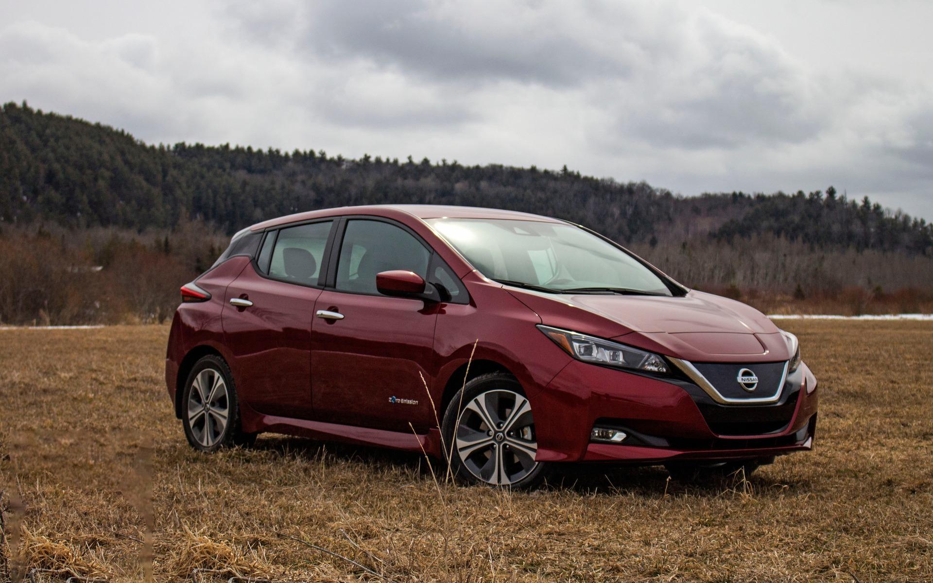 <p>Nissan Leaf 2018</p>