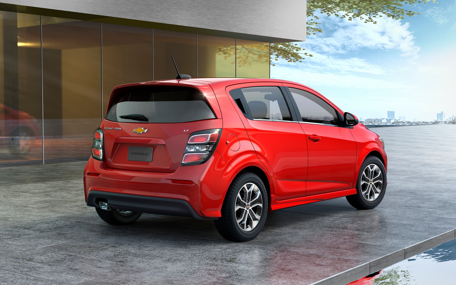 <p>Chevrolet Sonic 2017 &agrave; hayon</p>