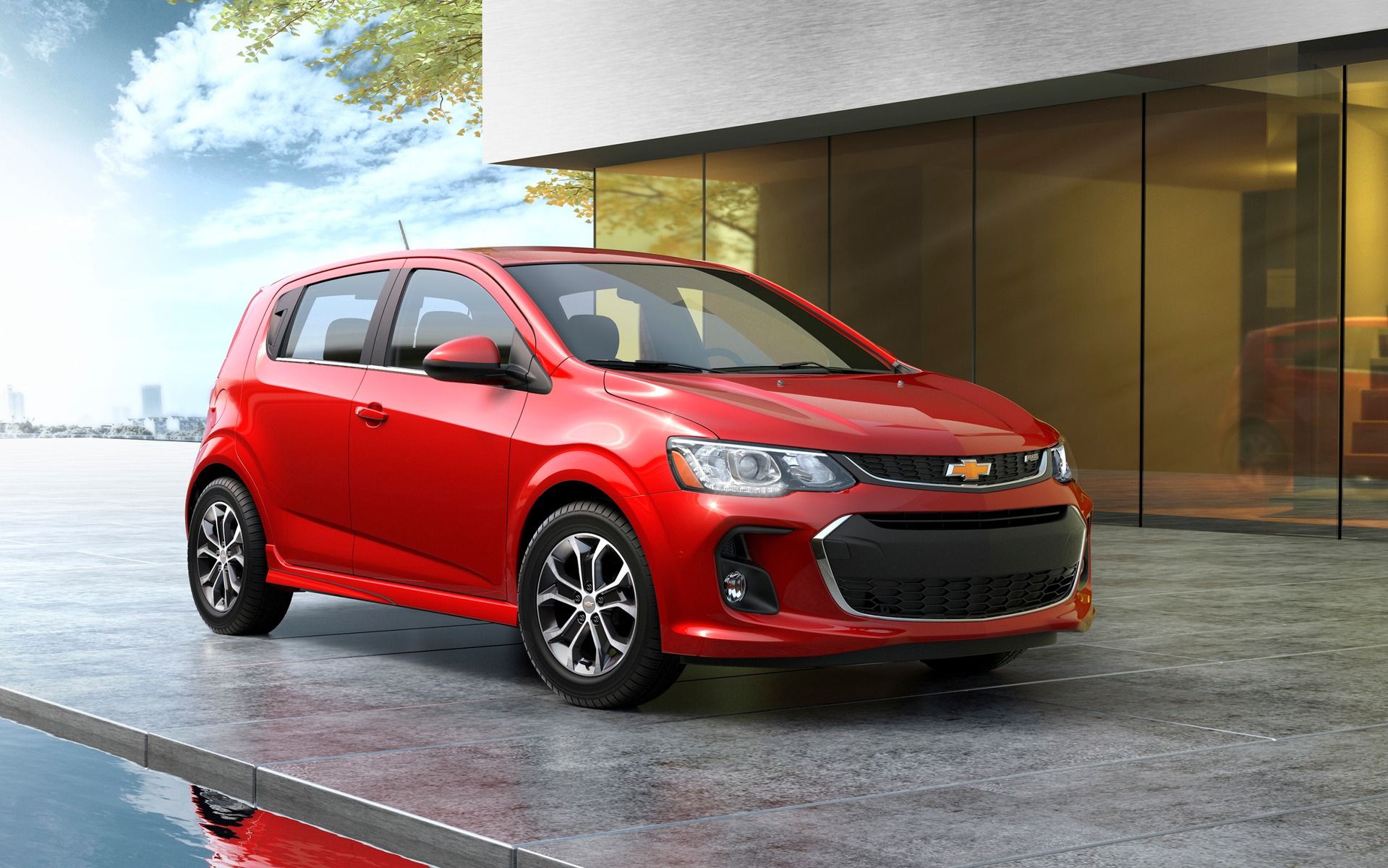 <p>Chevrolet Sonic 2017 &agrave; hayon</p>