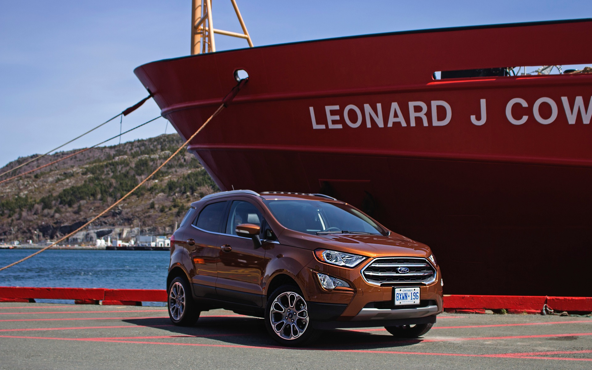 2018 Ford EcoSport: the Fiesta Suits Up - 1/26