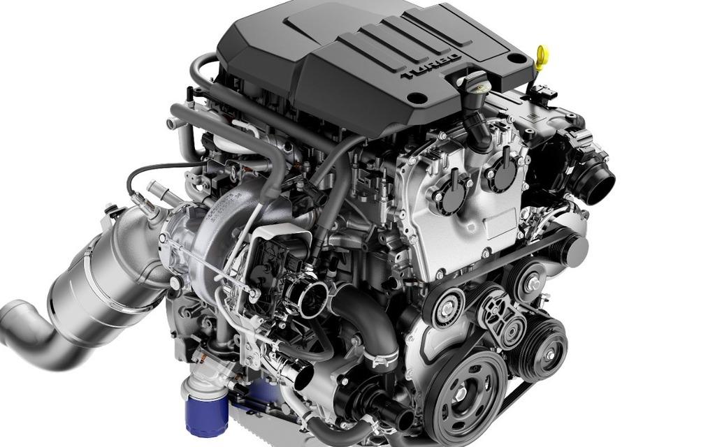 <p>Moteur à 4 cylindres turbocompressé de 2,7 litres</p>
