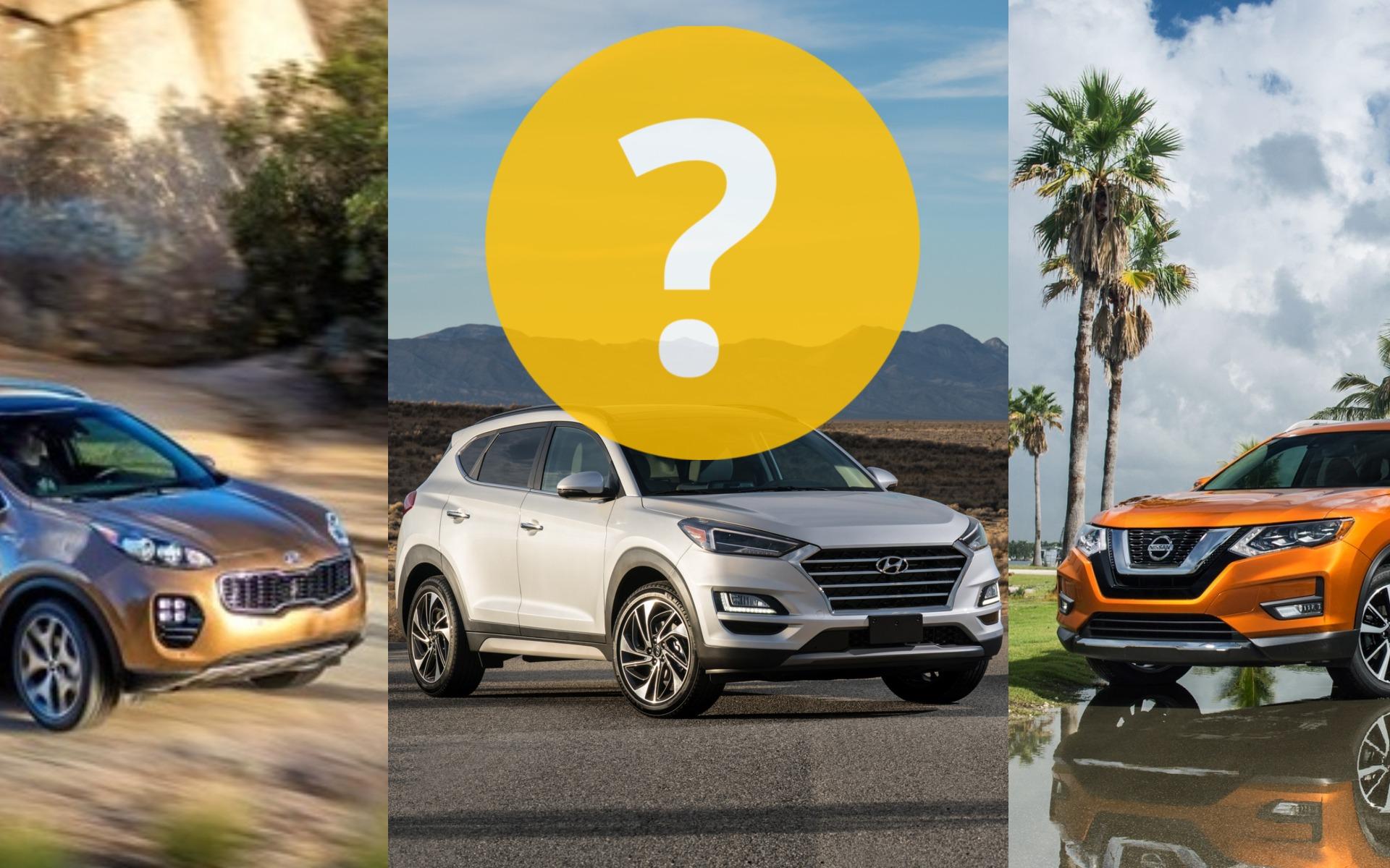 Nissan Rogue S >> Pour conserver pendant dix ans : Hyundai Tucson, Kia Sportage ou Nissan Rogue? - 1/13