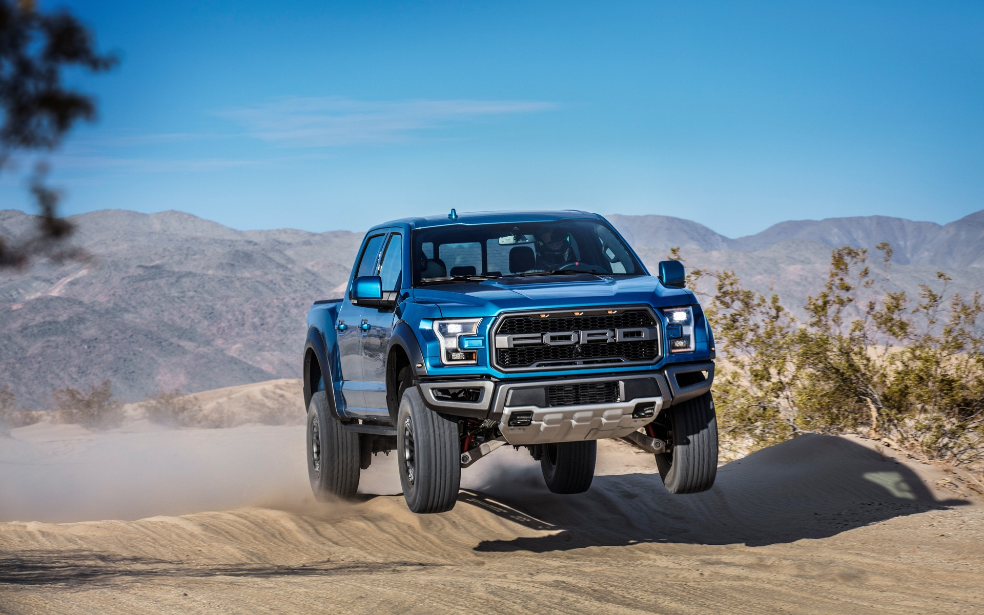 2019 Ford F-150 Raptor is a jump expert
