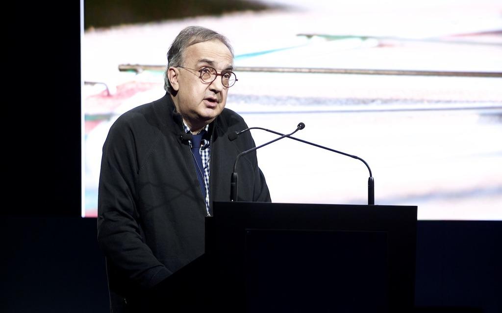 Le PDG de Fiat-Chrysler Automobiles, Sergio Marchionne