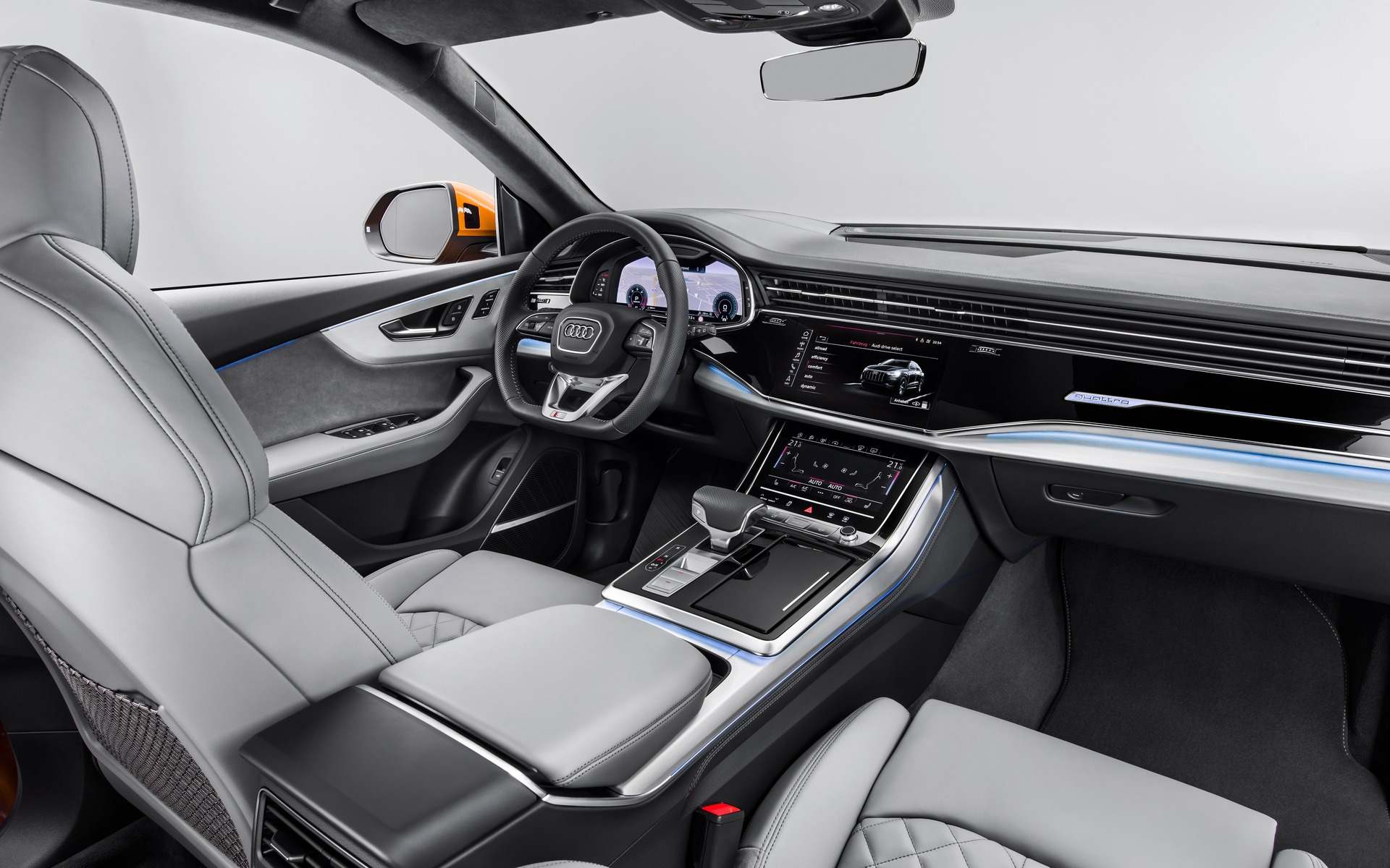 All New 2019 Audi Q8 Makes Global Debut 1011