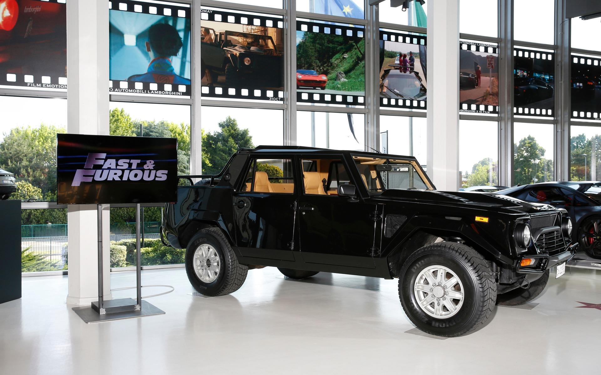 Lamborghini Cars That Became Movie Stars 9 14