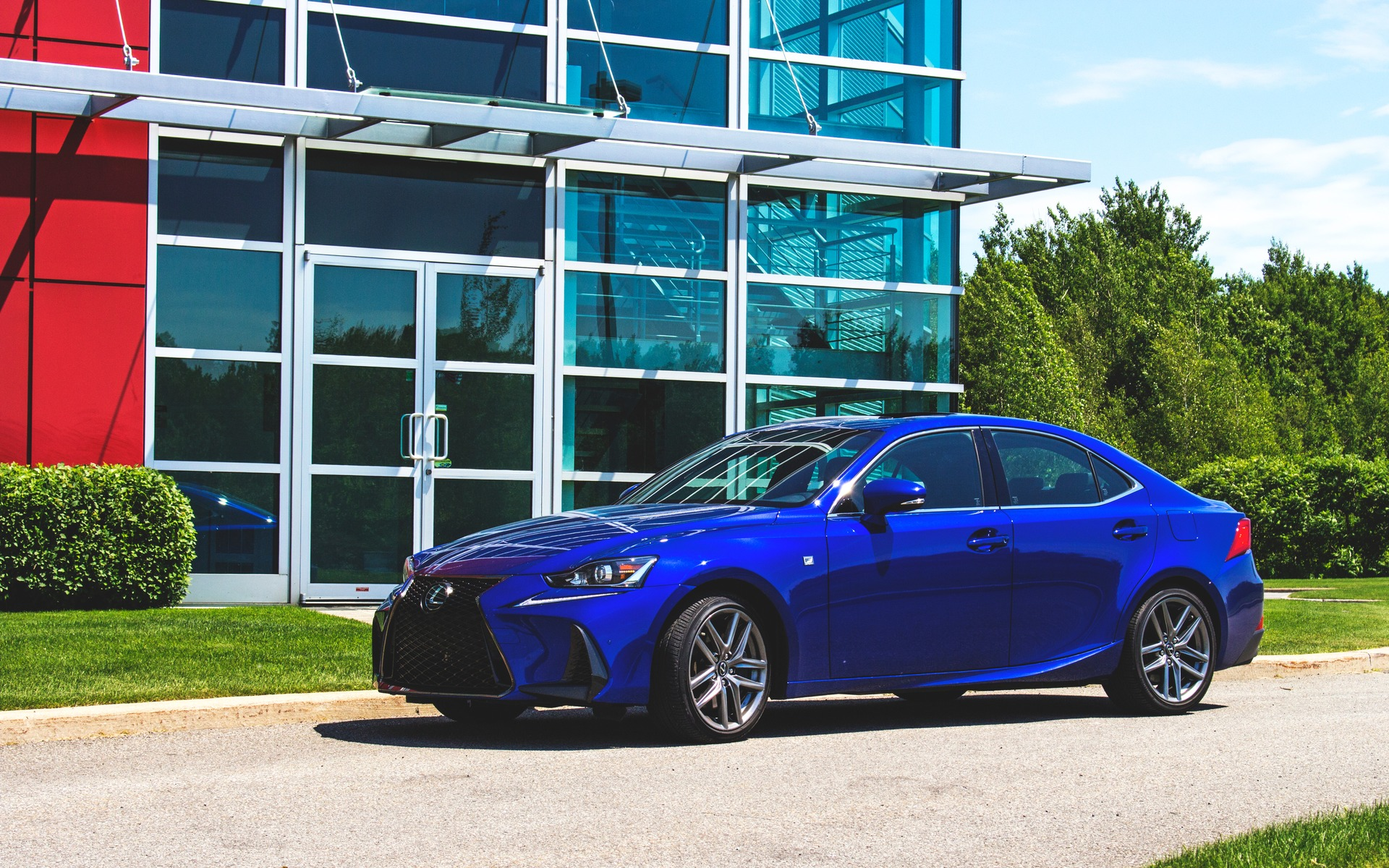 2018 Lexus Is 350 F Sport The 3 Series Bmw Used To Build 9 17