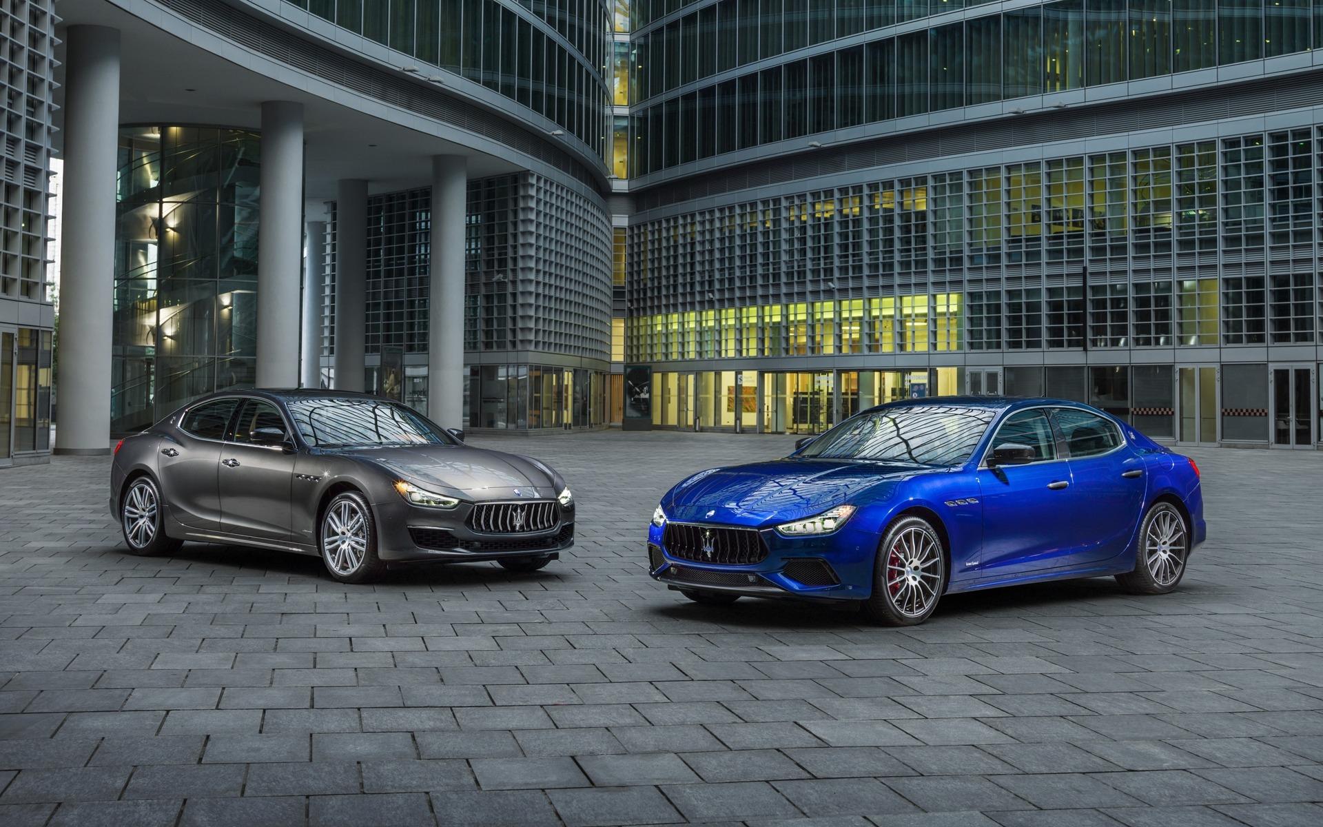 <p>Maserati Ghibli GranLusso et GranSport</p>