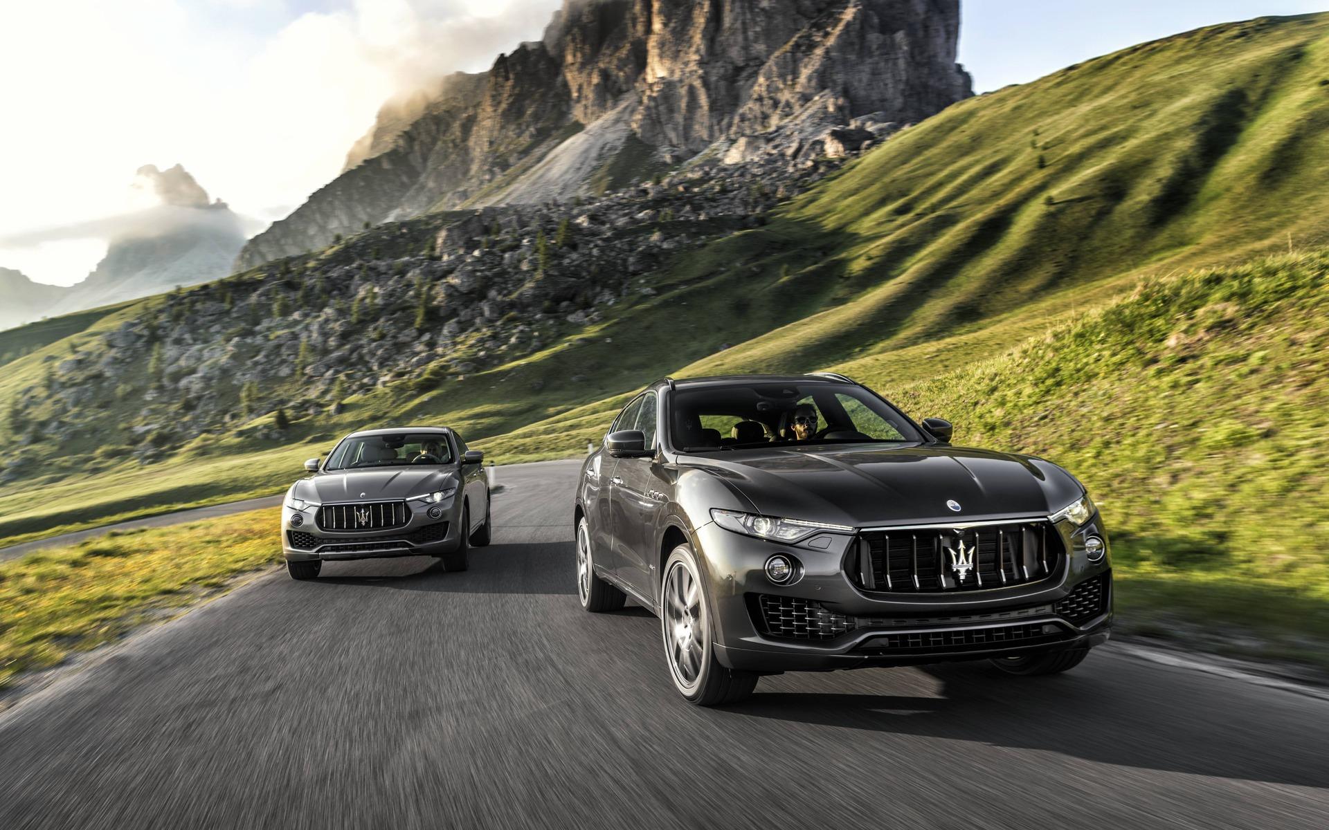 <p>Maserati Levante GranLusso et GranSport</p>