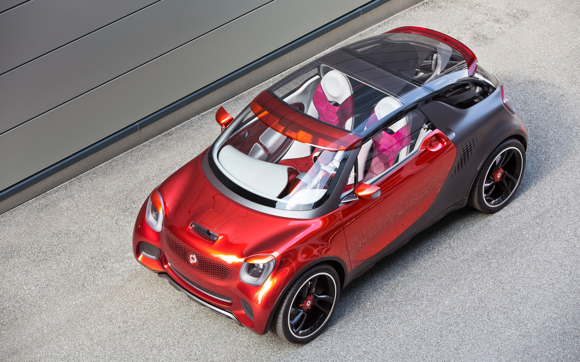 <p>Concept de smart forstars, digne de Hollywood et de la SEMA!</p>
