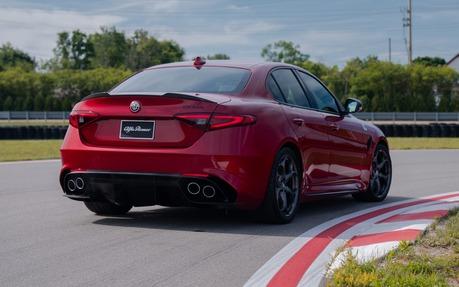 The 2019 Alfa Romeo Giulia Quadrifoglio Nero Edizione Sedan With Its