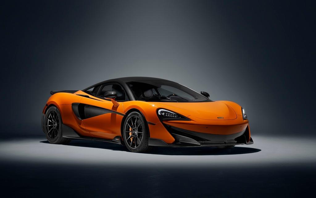 <p>The new 2019 McLaren 600LT</p>
