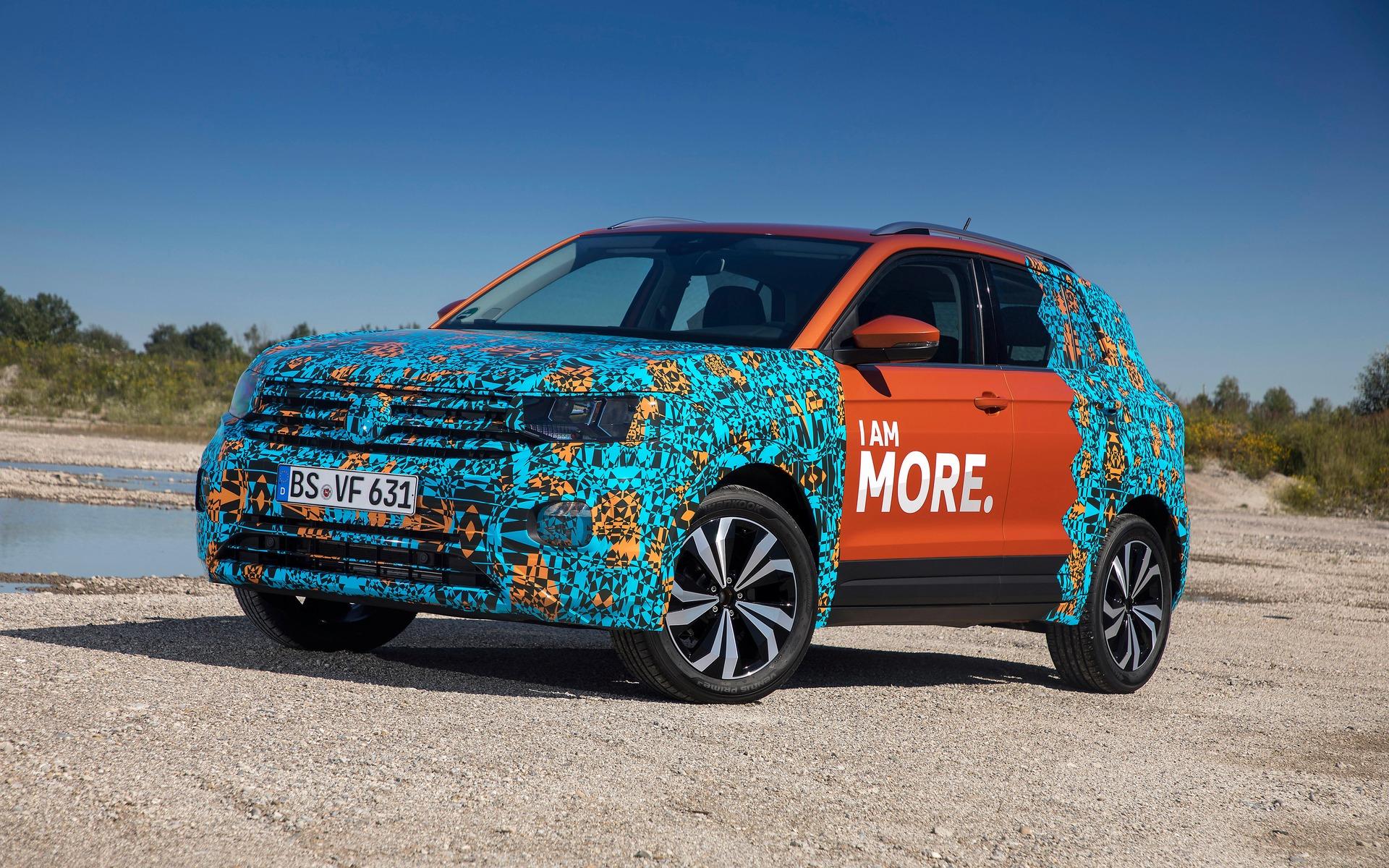 Prototype du Volkswagen T-Cross