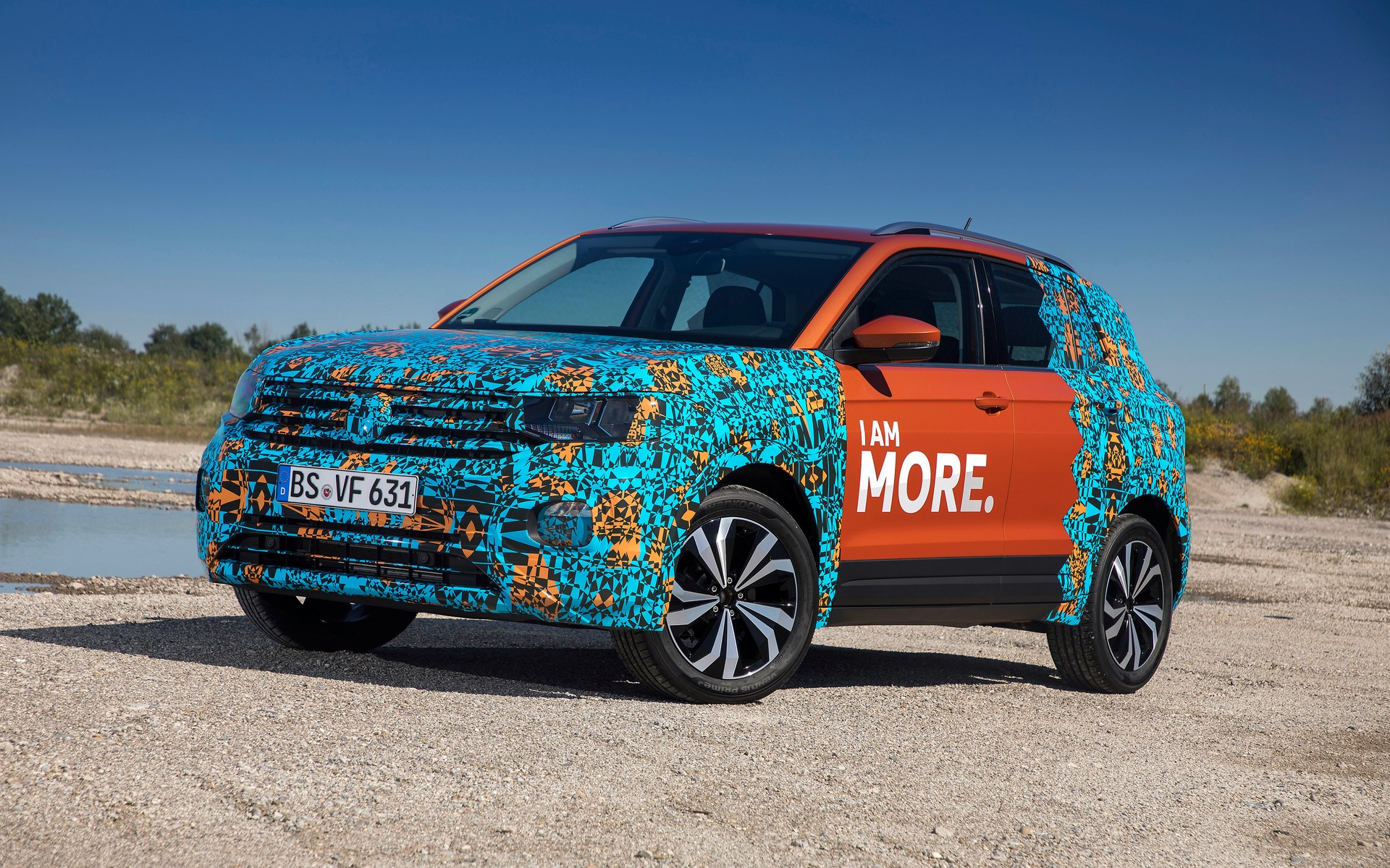 Prototype of the new Volkswagen T-Cross