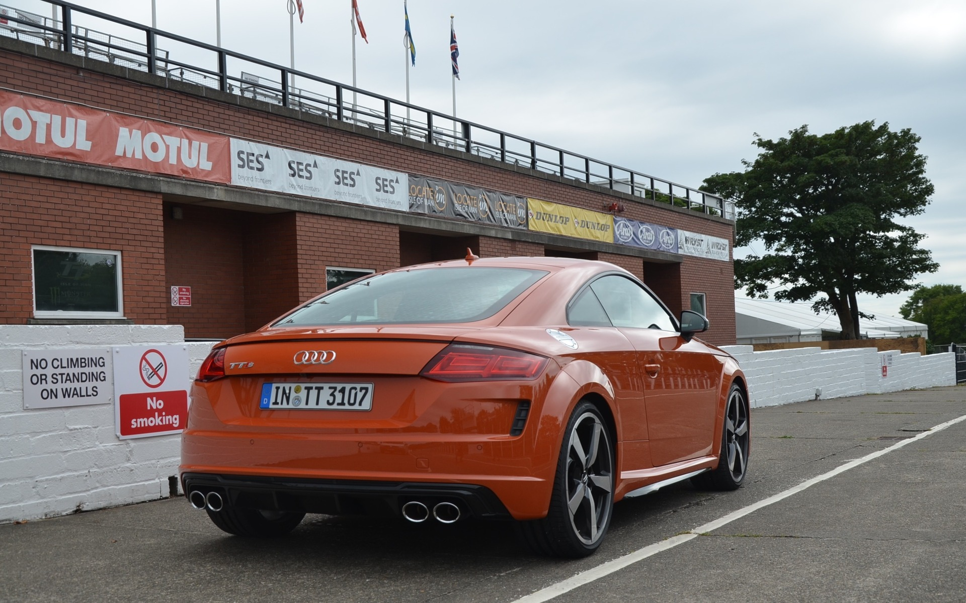 2019 Audi Tts Coupe On The Famed Mountain Course At The
