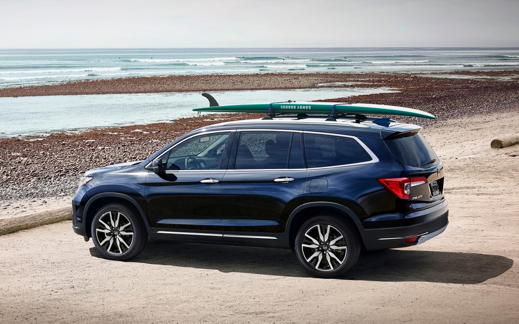 2019 Honda Pilot Coming Soon To Dealers With Numerous Upgrades The