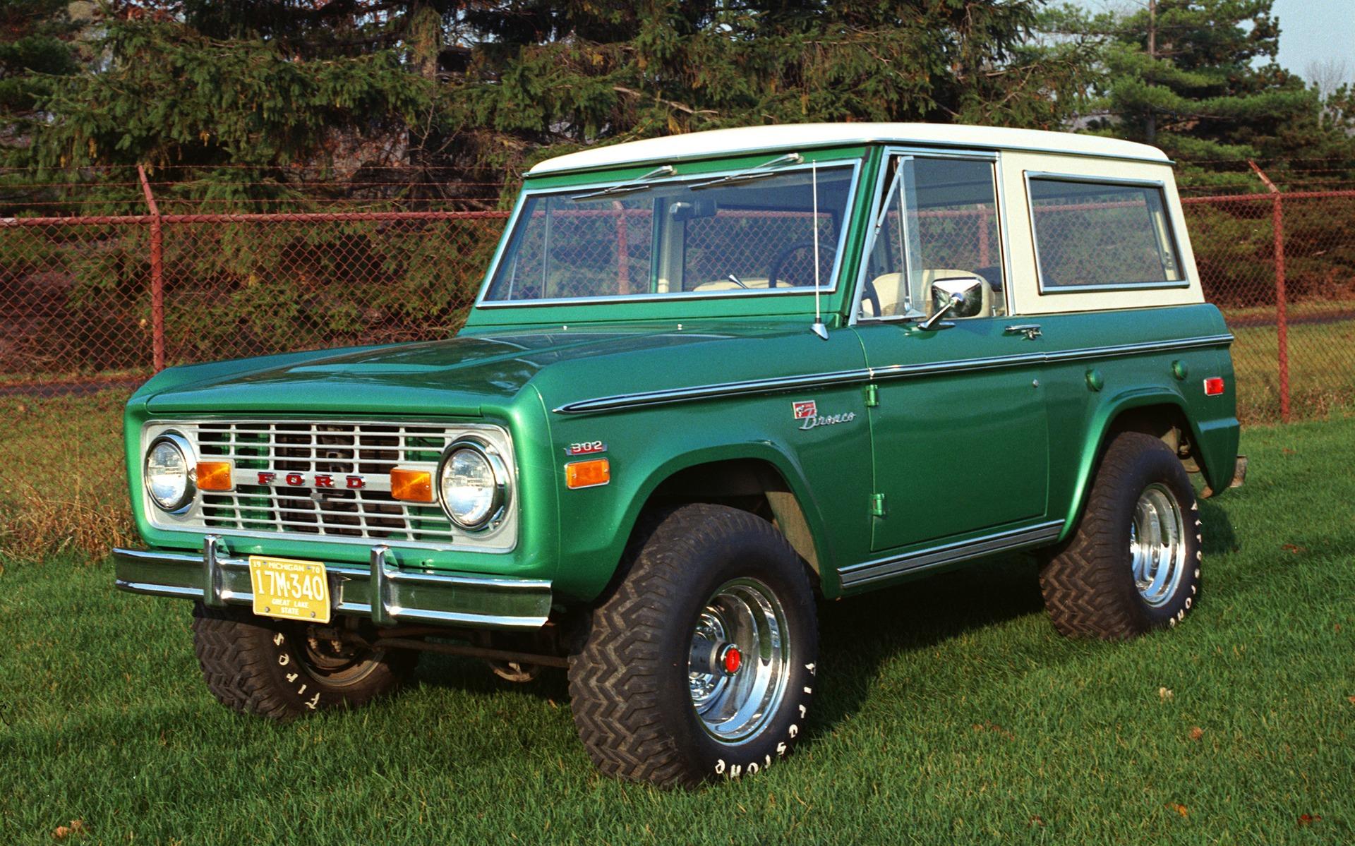 <p>Ford Bronco 1971</p>