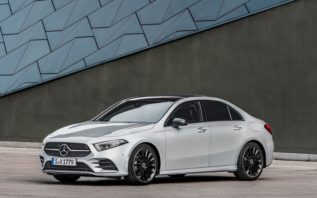 <p>The most beautiful sub-compact luxury sedan we've ever seen!</p>