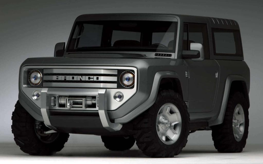 <p>Ford Bronco Concept 2004</p>