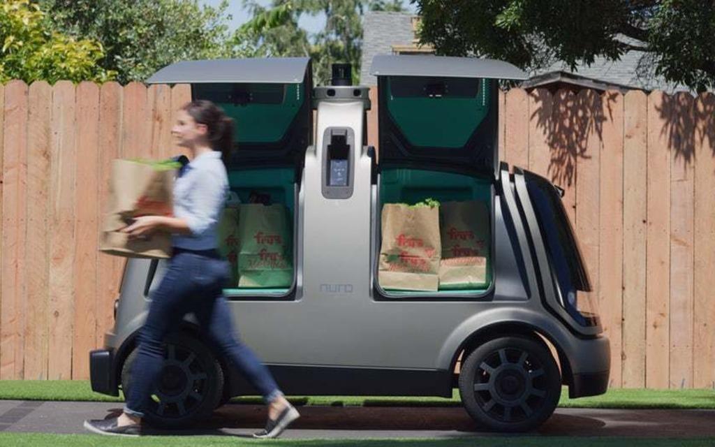 la livraison domicile en voiture autonome est arriv e guide auto. Black Bedroom Furniture Sets. Home Design Ideas