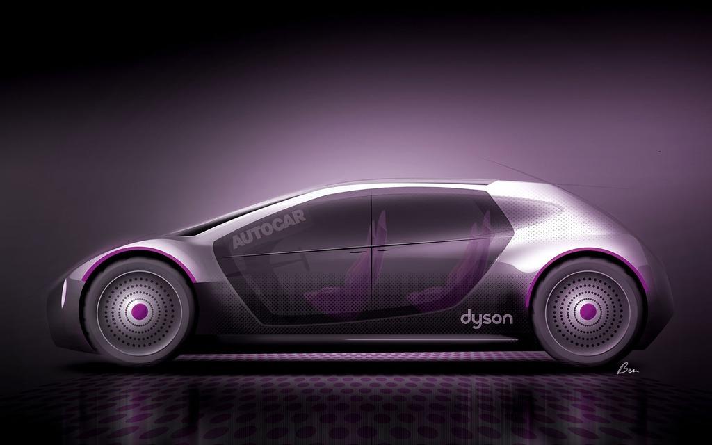 l'entreprise d'aspirateurs dyson s'apprête à lancer sa voiture
