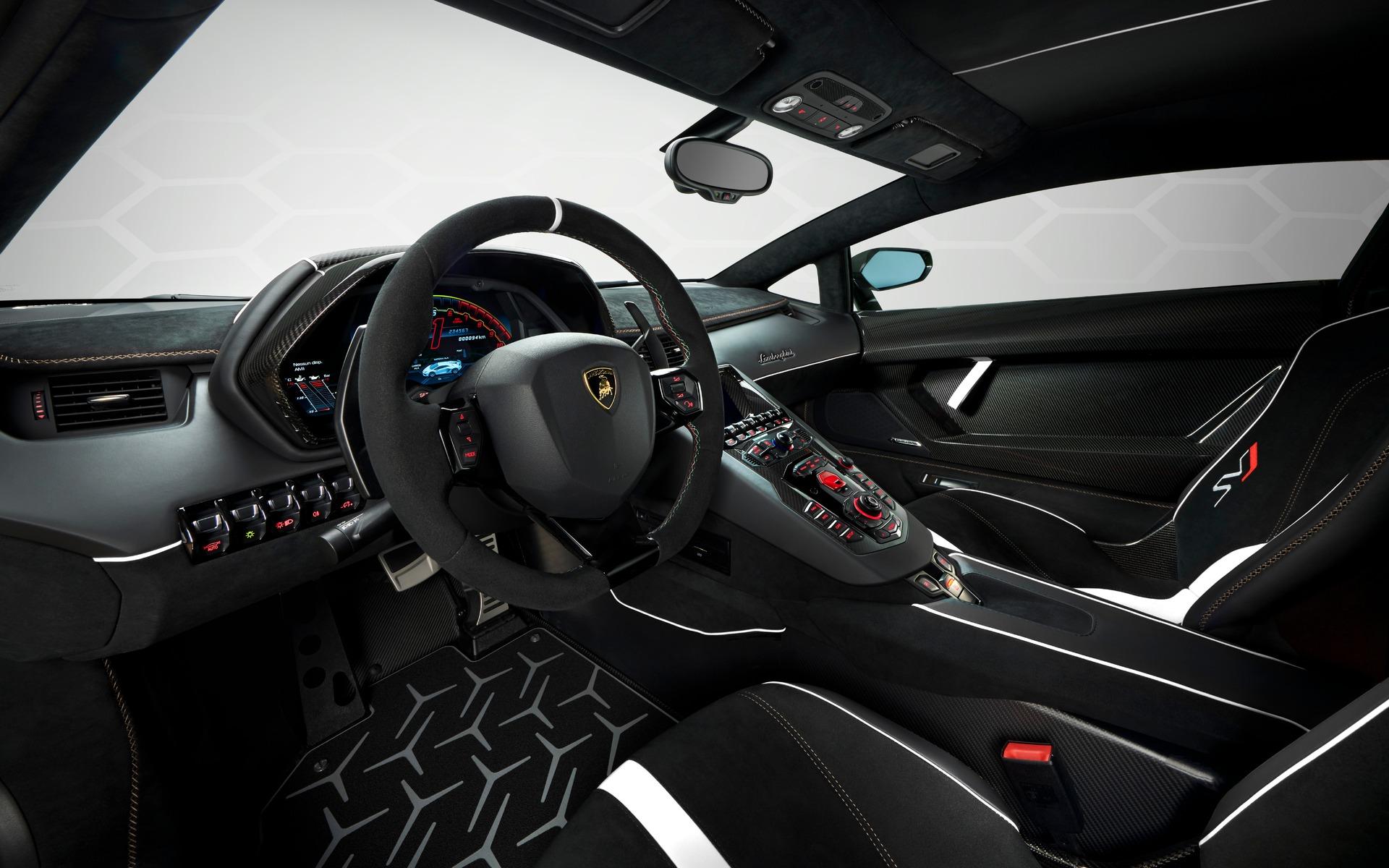<p>Lamborghini Aventador SVJ 2019</p>