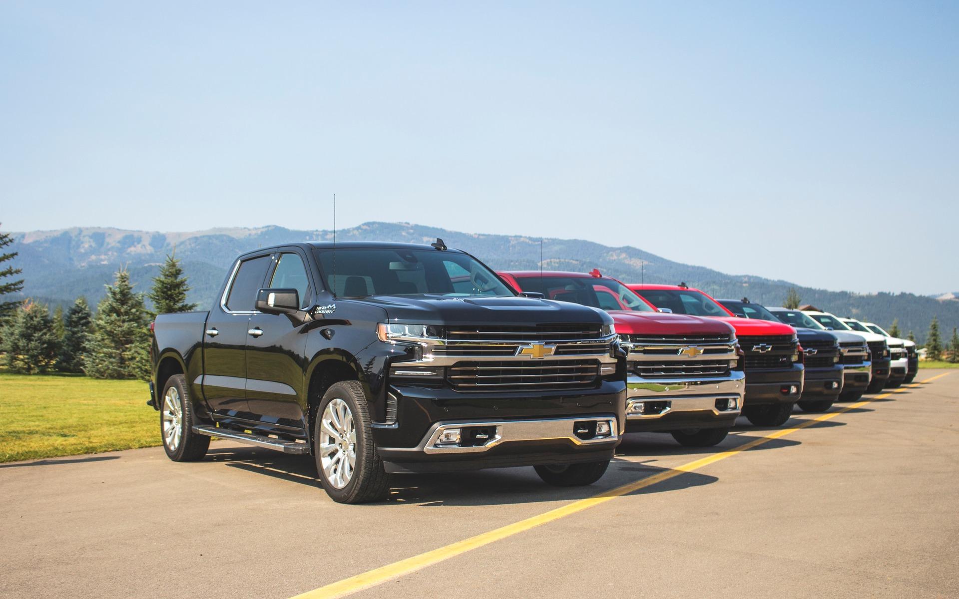 <p>Chevrolet Silverado 2019</p>