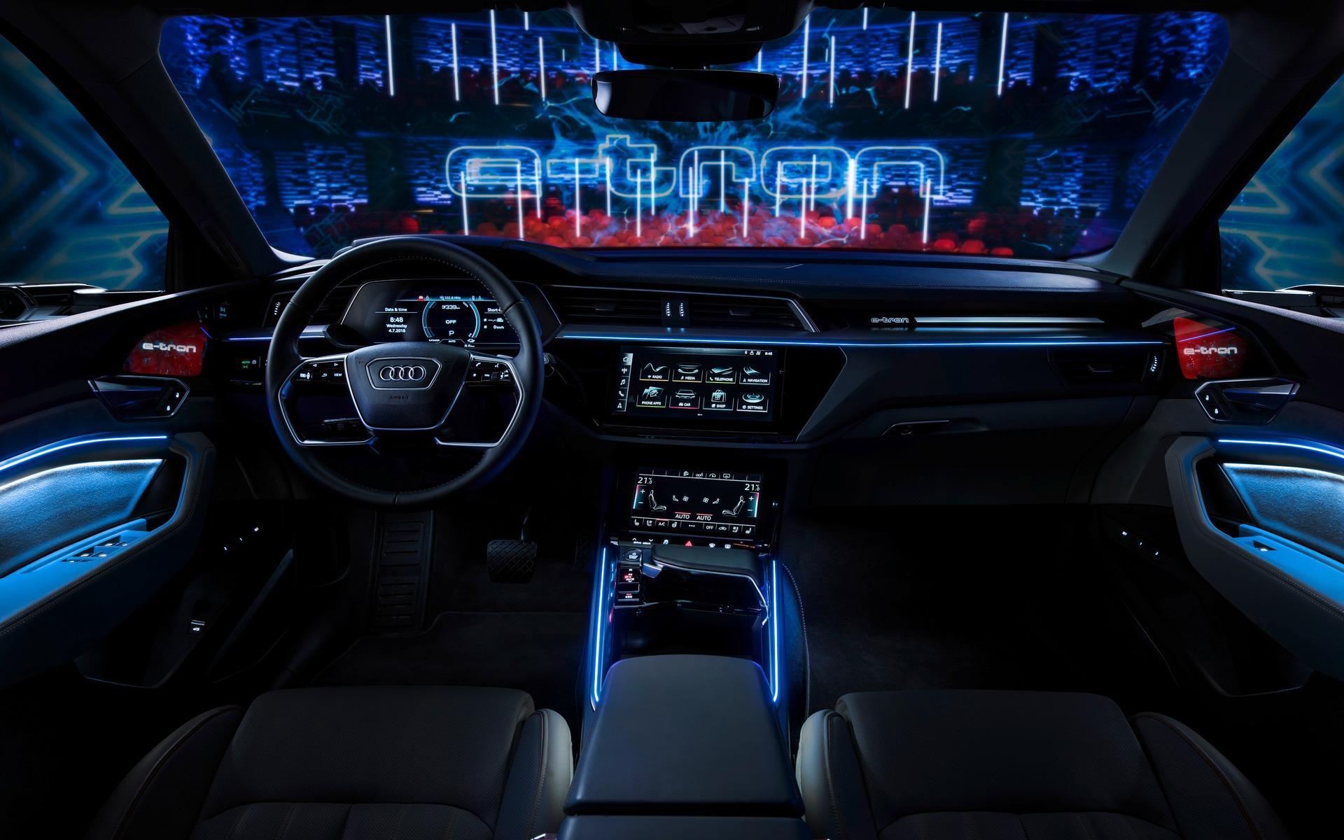 <p>Audi e-tron quattro - Habitacle.</p>