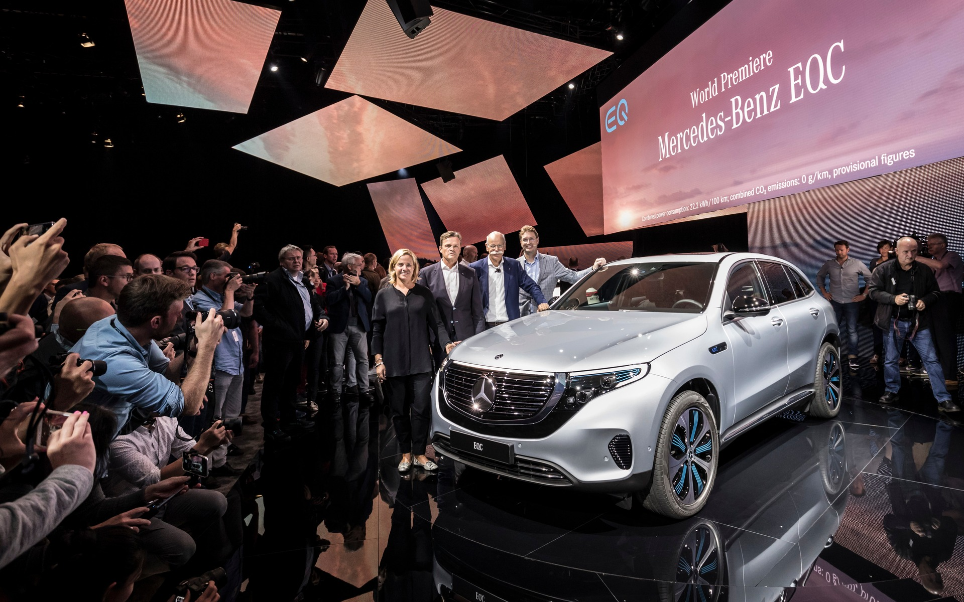 Mercedes Benz EQ: The Silver Star Goes Electric