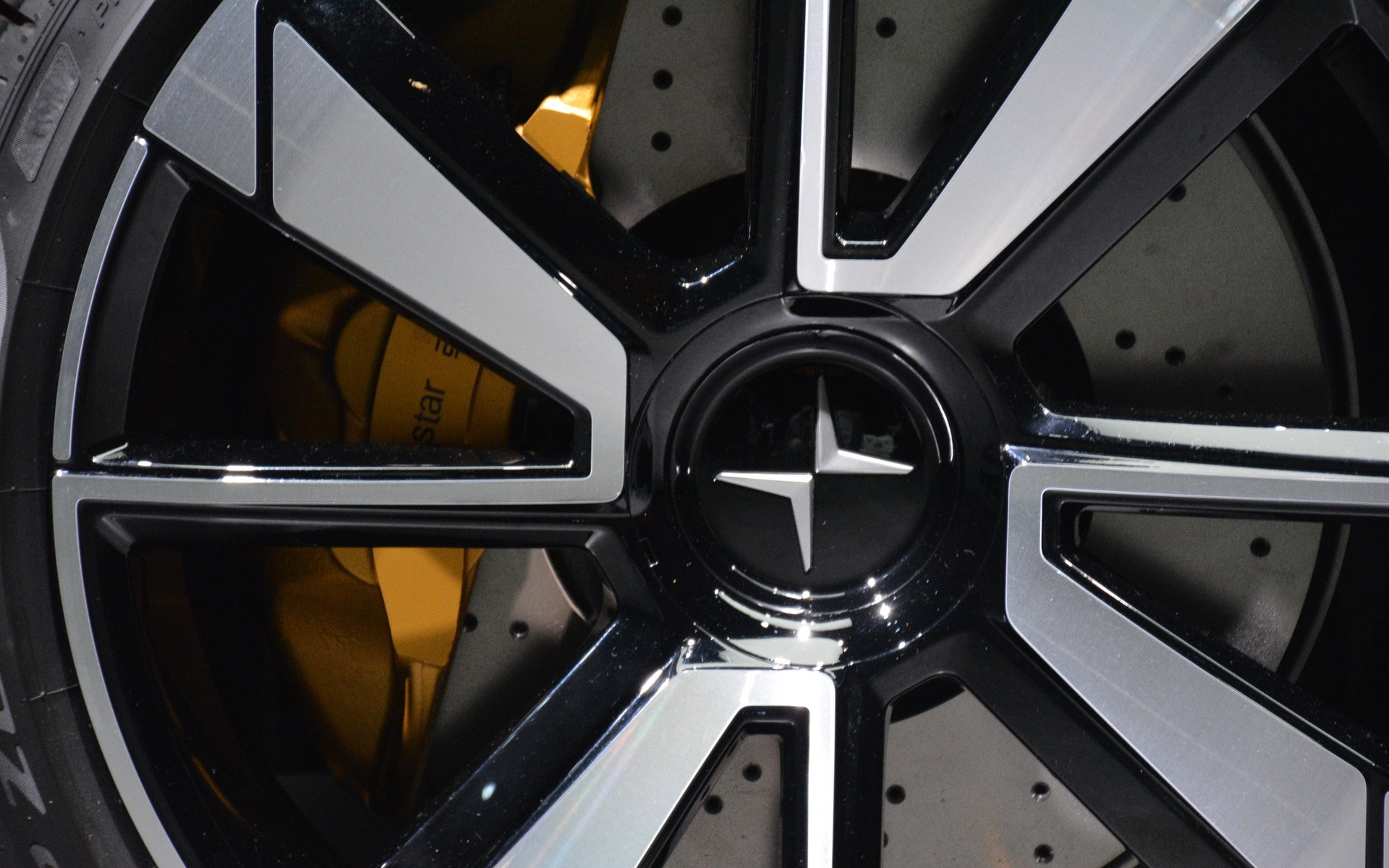 <p>The Polestar 1 2+2 hybrid coupe</p>