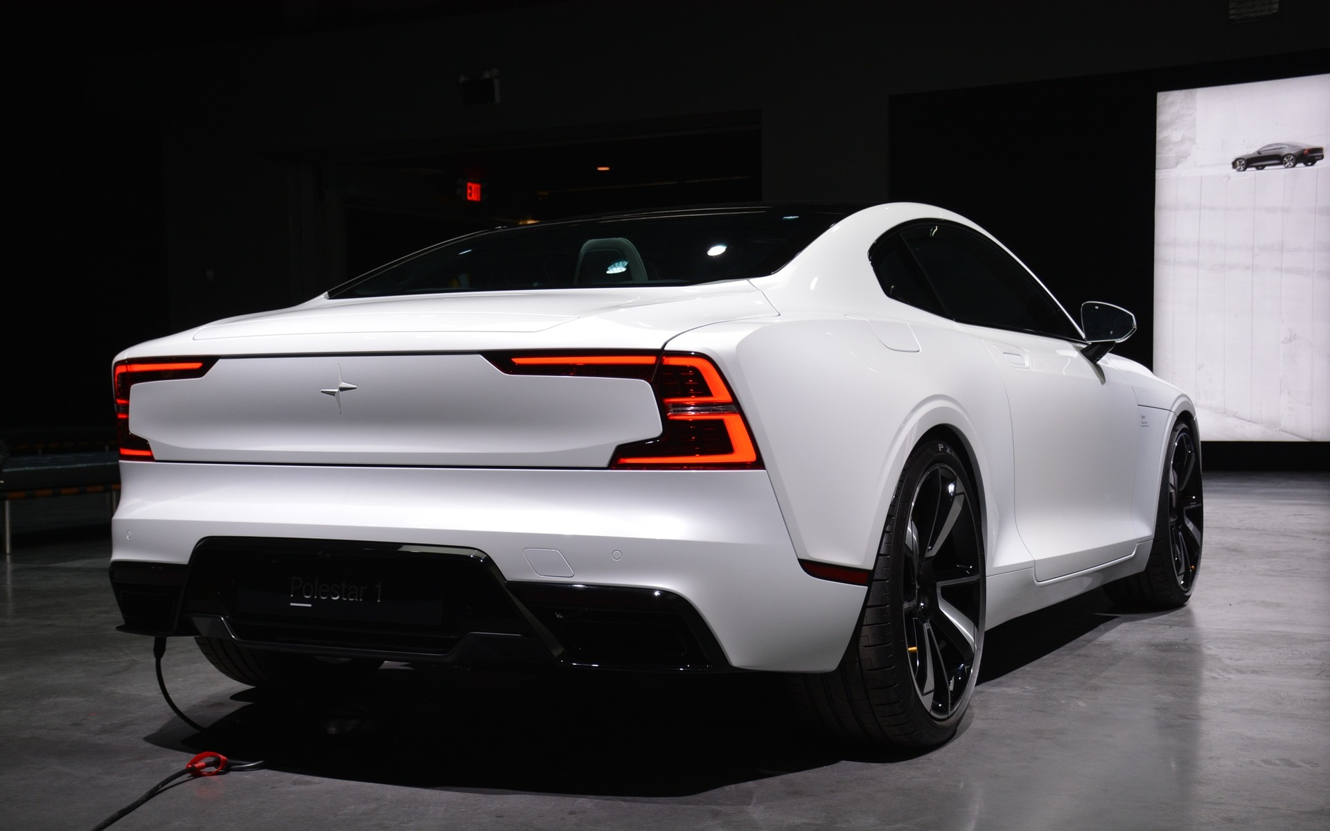 <p>The Polestar 1 2+2 hybrid coupe</p>