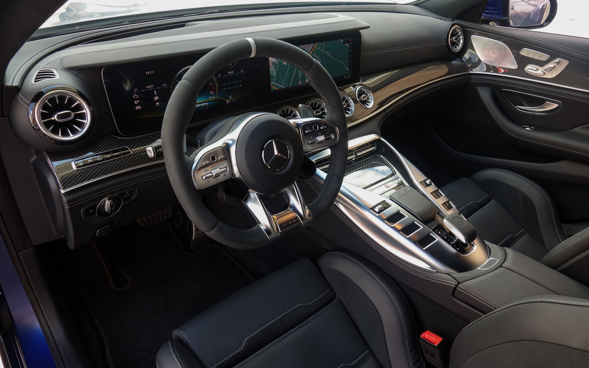 <p>Mercedes-AMG GT 63 S Coupé 4 portes 2019</p>