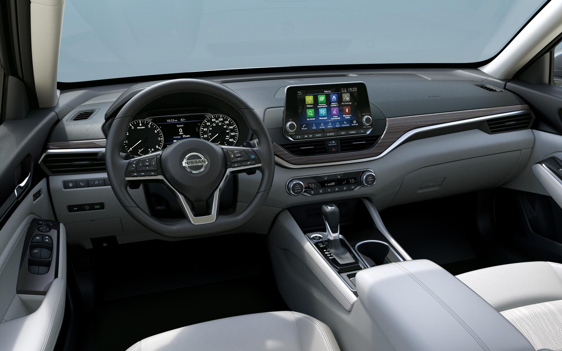 Nissan Altima 2019: enfin un moyen de se distinguer 350281_2019_Nissan_Altima