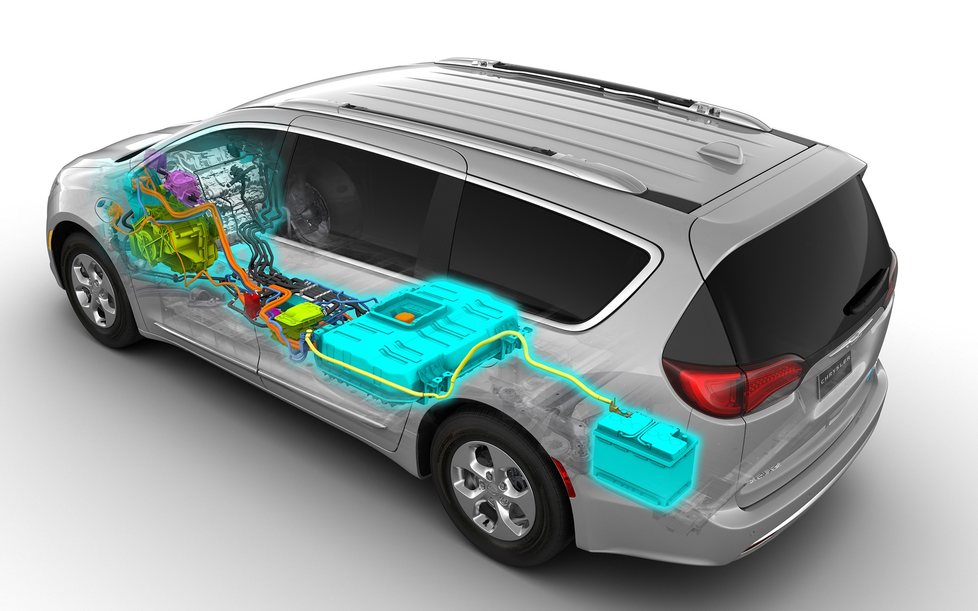 Chrysler Pacifica hybride 2019 : la familiale électrique 350962_2019_Chrysler_Pacifica