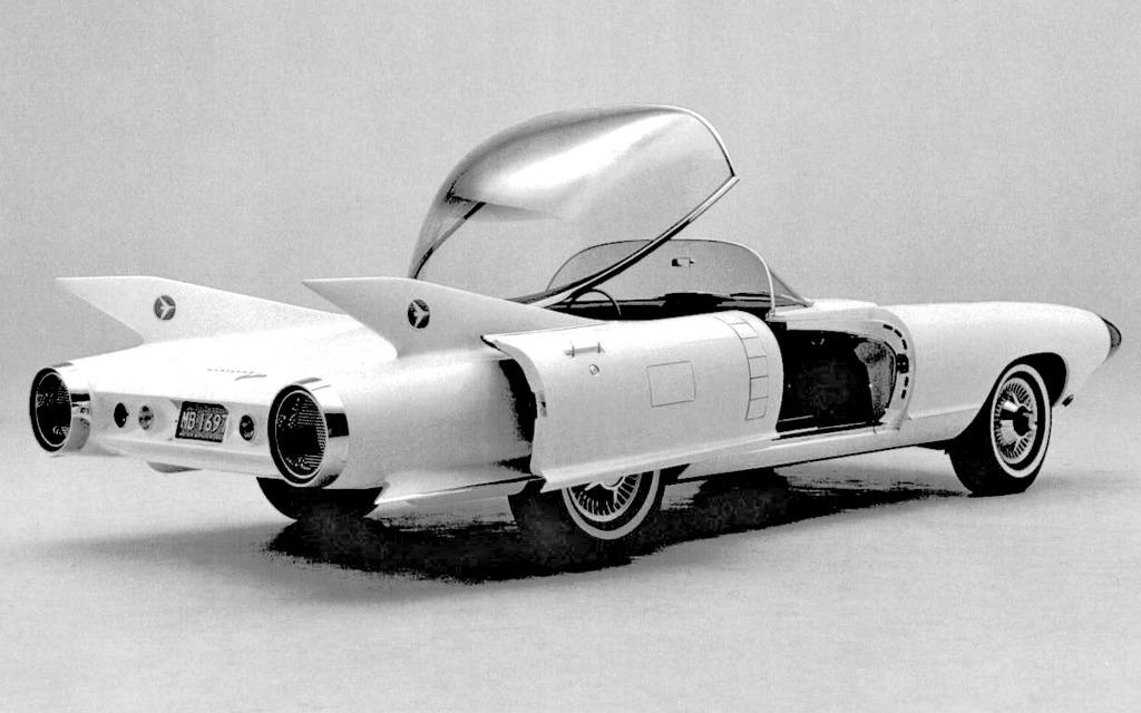 Le Cadillac Cyclone 1959, grand ouvert!
