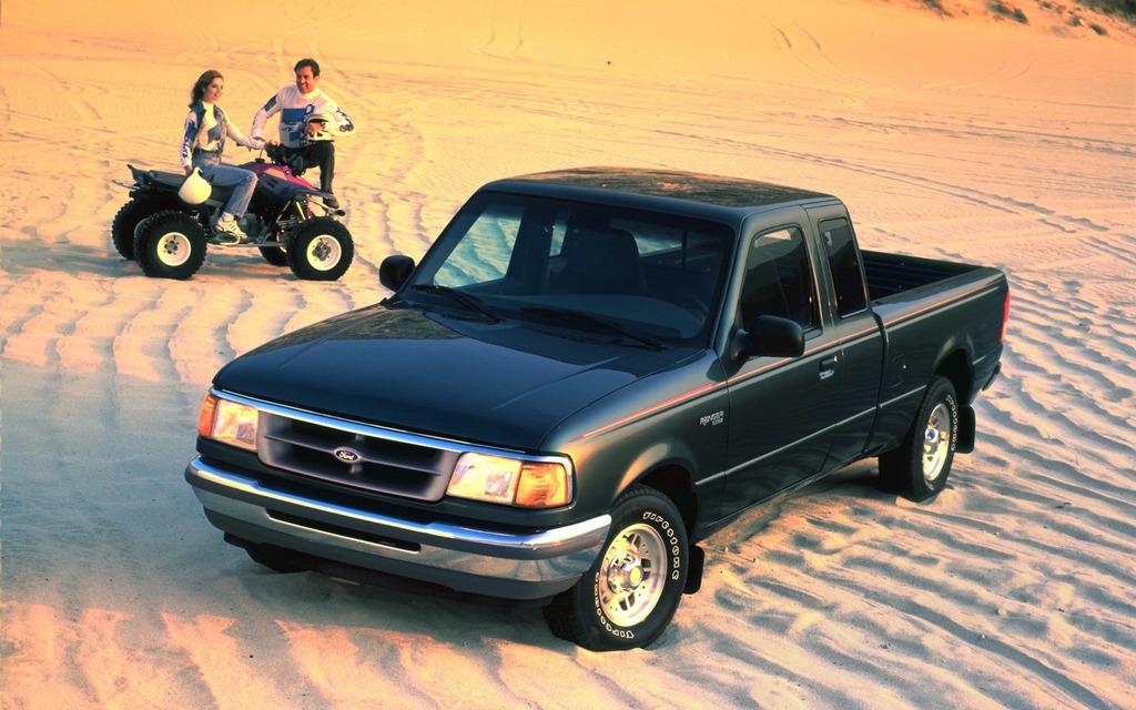 <p>Ford Ranger XLT 1995</p>