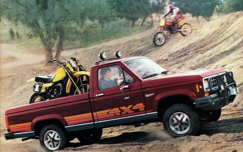 <p>1982 Ford Ranger XLT</p>