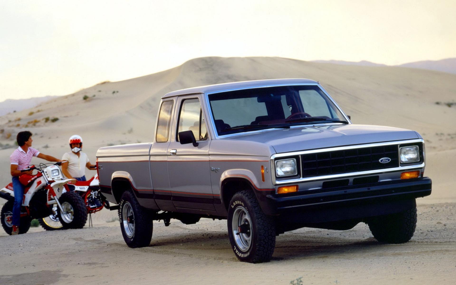<p>1986 Ford Ranger STX</p>