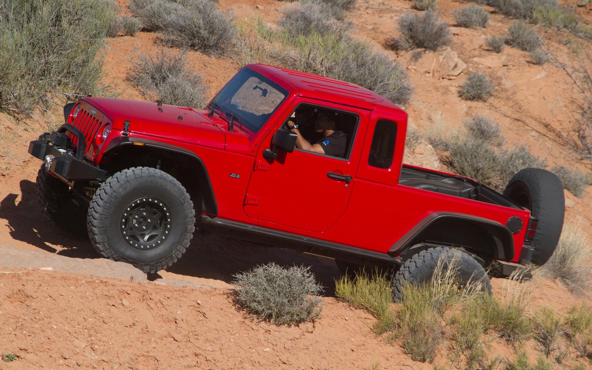 Le pickup Jeep sera dévoilé très bientôt 354027_Jeep